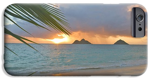 Printscapes - iPhone Cases - Lanikai Sunrise iPhone Case by Tomas del Amo - Printscapes