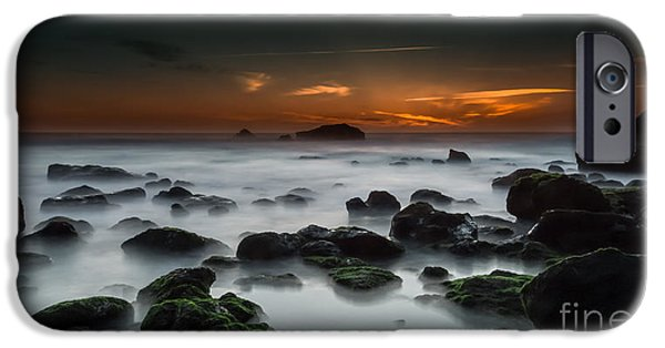 Ocean Sunset iPhone Cases - Last minute  iPhone Case by Henrique Silva