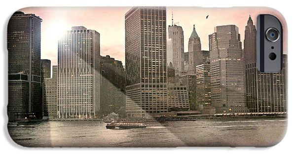 Hudson River iPhone Cases - Last Night iPhone Case by Diana Angstadt