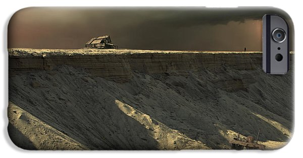 Ledge iPhone Cases - Last Outpost iPhone Case by Michal Karcz