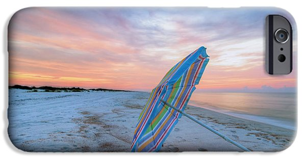 Pastel iPhone Cases - Last Sunrise in July iPhone Case by Gary Oliver