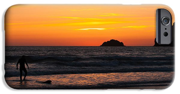 Sun Flare iPhone Cases - Last Surfer iPhone Case by Amanda And Christopher Elwell