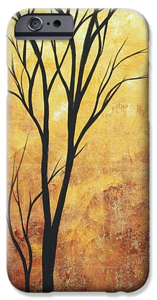 Rust iPhone Cases - Last Tree Standing by MADART iPhone Case by Megan Duncanson