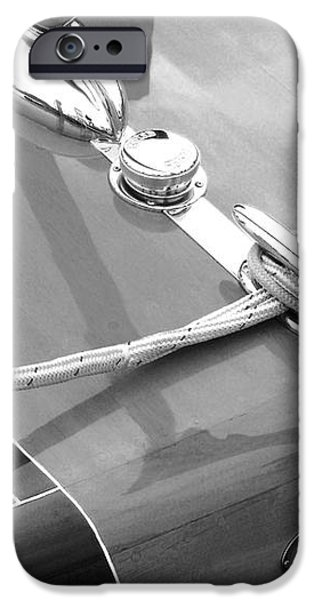 Late 1940's Chris Craft Custom iPhone Case by Neil Zimmerman