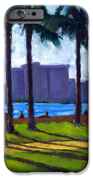 Late Afternoon - Queen's Surf iPhone Case by Douglas Simonson