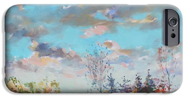 People iPhone Cases - Late Afternoon iPhone Case by Ylli Haruni