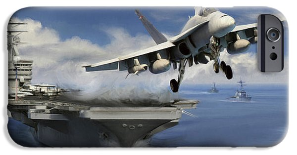 Usn iPhone Cases - Launch iPhone Case by Dale Jackson