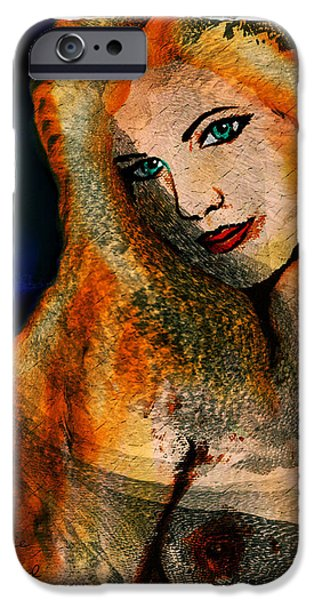 Seductive iPhone Cases - Laura iPhone Case by Natalie Holland