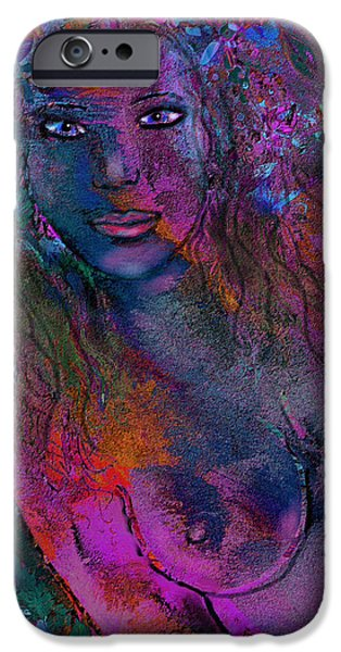 Berry iPhone Cases - Lavender Dreams iPhone Case by Natalie Holland
