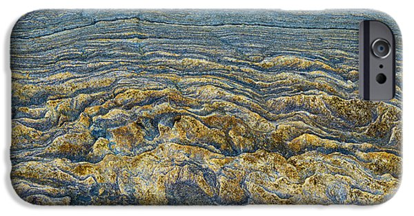 Stratum iPhone Cases - Layers of Time  iPhone Case by Tim Gainey
