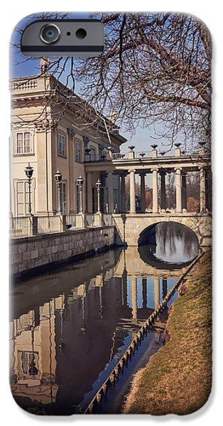 Tree Art Print iPhone Cases - Lazienki Palace Warsaw iPhone Case by Carol Japp