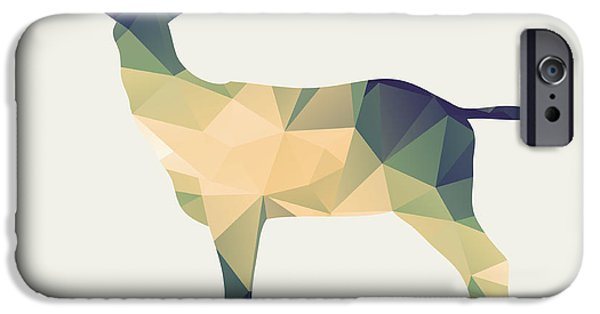 Nature Study iPhone Cases - Le cerf iPhone Case by Taylan Soyturk