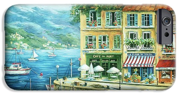 Shops iPhone Cases - Le Port iPhone Case by Marilyn Dunlap