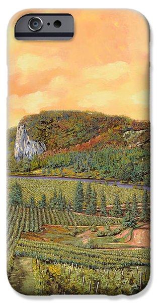 le vigne nel 2010 iPhone Case by Guido Borelli