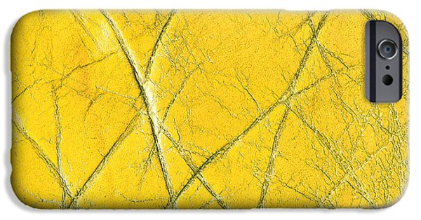 Genuine iPhone Cases - Leather texture iPhone Case by Tom Gowanlock