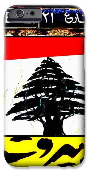 Lebanon famous icons iPhone Case by Funkpix Photo Hunter