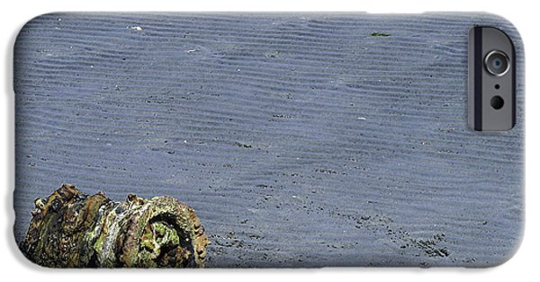 Port Hardy iPhone Cases - Left Behind 1 iPhone Case by Larry Kohlruss