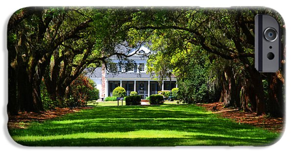 Plantation iPhone Cases - Legare Waring House Charleston SC iPhone Case by Susanne Van Hulst