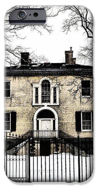 Lemon Hill Mansion - Philadelphia iPhone Case by Bill Cannon