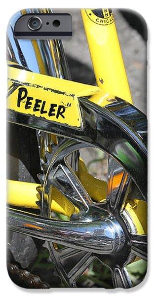 Lemon Peeler iPhone Case by Lauri Novak