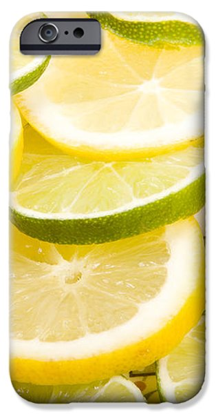 Lemons and Limes iPhone Case by James BO  Insogna