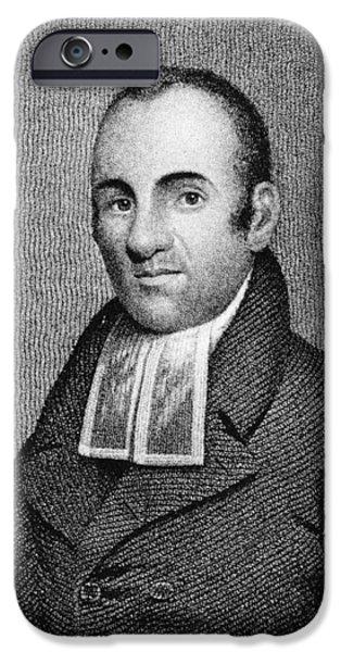 LEMUEL HAYNES (1753-1833) iPhone Case by Granger