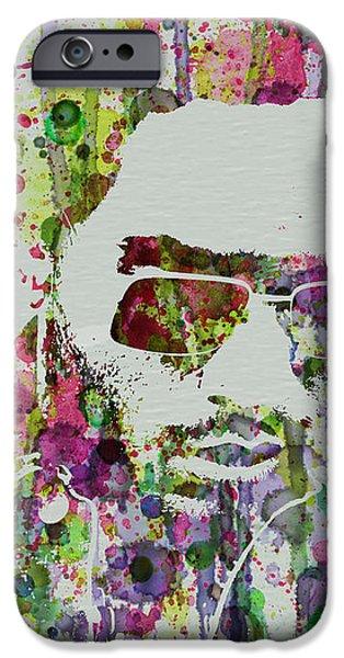 Lenny Kravitz 2 iPhone Case by Naxart Studio
