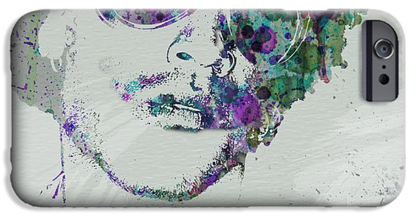 Soul iPhone Cases - Lenny Kravitz iPhone Case by Naxart Studio