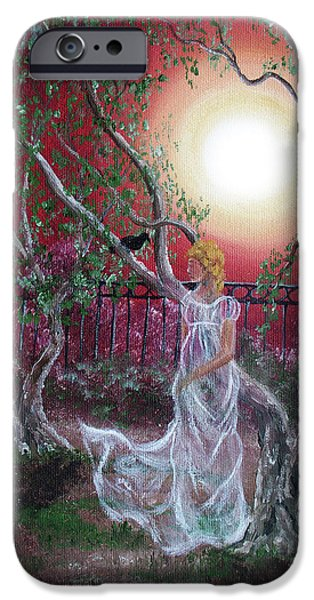Supernatural iPhone Cases - Lenore by an Olive Tree iPhone Case by Laura Iverson