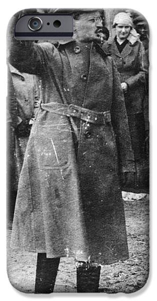 LEON TROTSKY (1879-1940) iPhone Case by Granger