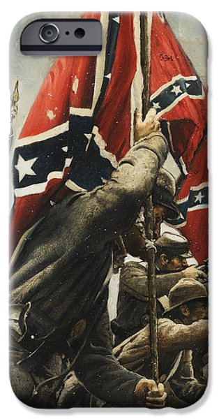 Flag iPhone Cases - They Are Ours iPhone Case by Ron Lesser