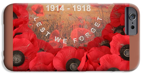 IPhone 6 Case featuring the photograph Lest We Forget - 1914-1918 by Travel Pics
