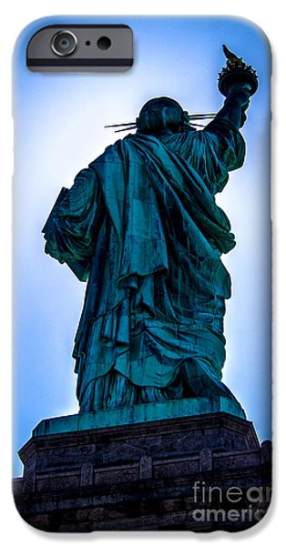 American Independance iPhone Cases - Let Freedom Ring iPhone Case by James Aiken