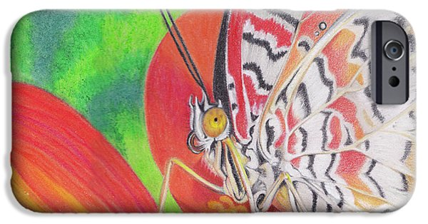 Colored Pencils iPhone Cases - Let Go iPhone Case by Amy Tyler