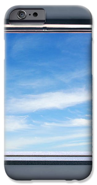 Let the blue sky in iPhone Case by Carlos Caetano