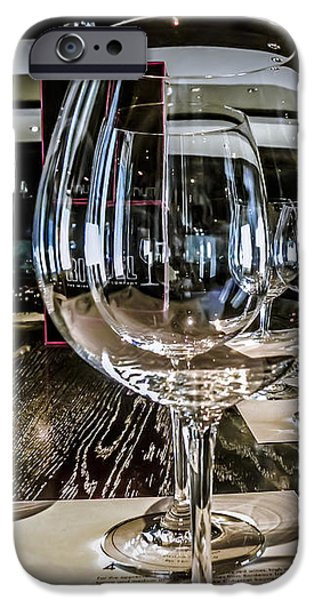 Let The Wine Tasting Begin iPhone Case by Julie Palencia