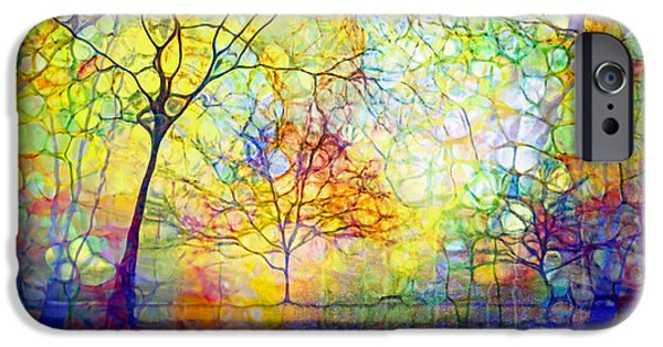 Nature Abstract iPhone Cases - Let There Be Joy iPhone Case by Tara Turner