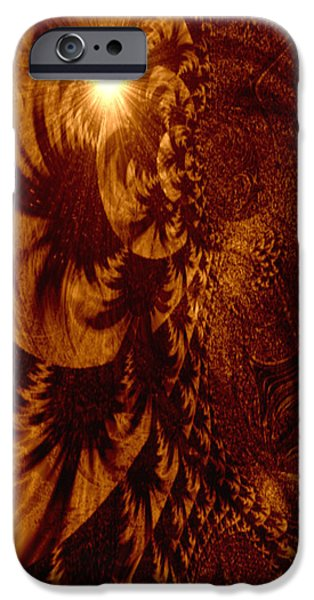 Gina Lee Manley iPhone Cases - Let Your Light Shine Through iPhone Case by Gina Lee Manley
