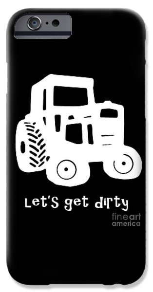 Agricultural iPhone Cases - Lets Get Dirty iPhone Case by Edward Fielding