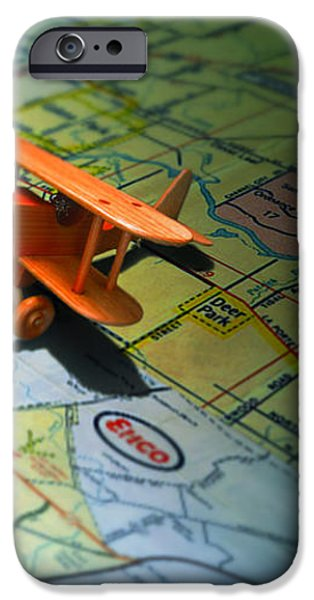 Let's Take a Trip iPhone Case by ADAM VANCE