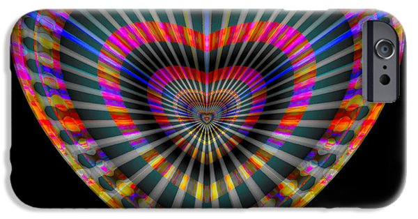 Recently Sold -  - Abstract Digital iPhone Cases - Letty iPhone Case by Visual Artist  Frank Bonilla
