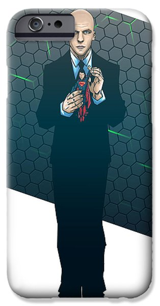 Justice League iPhone Cases - Lex Dawn of Justice iPhone Case by Akyanyme