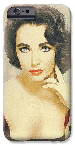 Lips iPhone Cases - Liberian Girl iPhone Case by Mo T