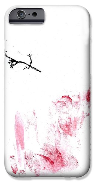 Tasteful Art iPhone Cases - Lichen iPhone Case by Bella Larsson