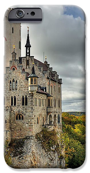 Lichtenstein Castle iPhone Case by Ryan Wyckoff