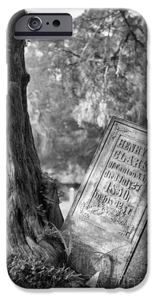 Headstones iPhone Cases - Life After Death iPhone Case by Richard Rizzo