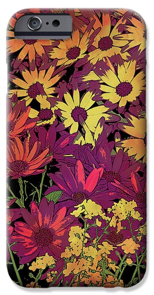 Plant iPhone Cases - Life in Flowers iPhone Case by JQ Licensing