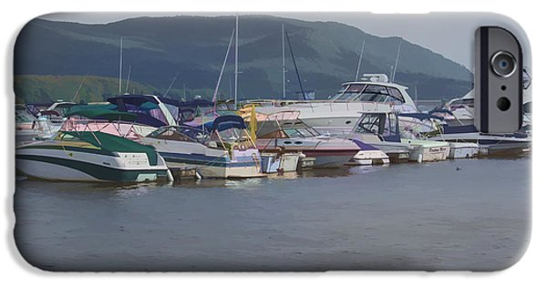 Hudson River iPhone Cases - Life in the Catskill Mountains iPhone Case by Roberta Byram