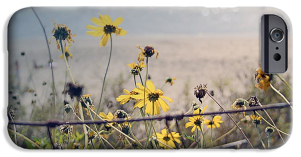 Beach Art iPhone Cases - Life is Beautiful iPhone Case by Linda Woods