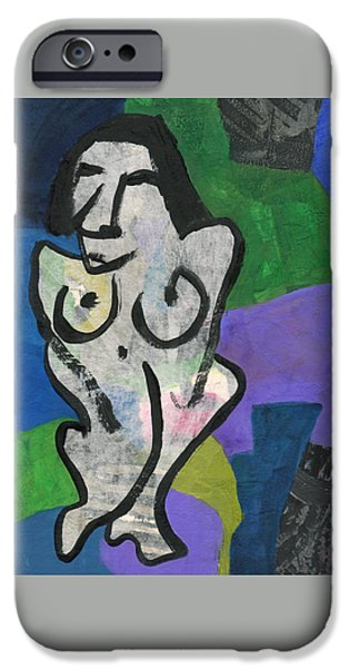 Model iPhone Cases - Life model iPhone Case by Catherine Redmayne